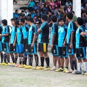 Inter Department Football Comeptition 2015